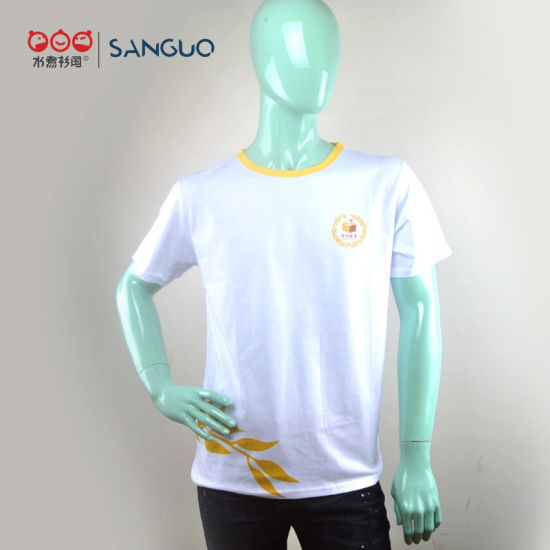 Customized High Quality Jersey Printed Logo Men T Shirt