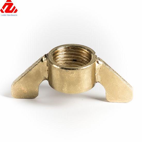 Carbon Steel Black Oxide Decorative Wing Nut/Butterfly Nut