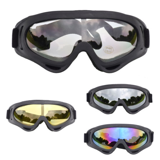 UV400 Hotsale Motorcycle CS Impact Goggles CS Ski Mirror Riding Glasses Goggles