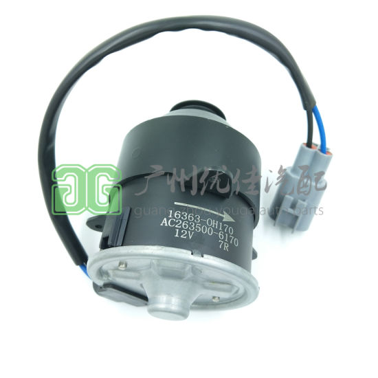 263500-6170 16363-28230 High Quality Auto Parts Cooling Fan Motor for Toyota