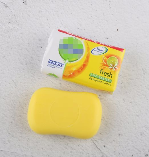 Washami Colorful Whitening Bath Soap 105g for Daily Use