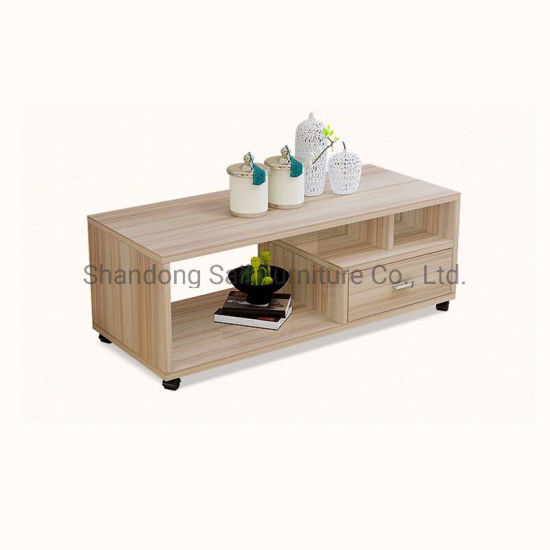 Small Wooden Coffee Table With Wheels China Coffee Table With