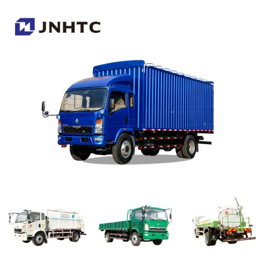 China Light Truck Sinotruk HOWO Water Tank Cargo Refrigerator Tractor Dump Concrete Tow Garbage Tipper Compactor Box Sewage Suction Fuel Truck for Sale