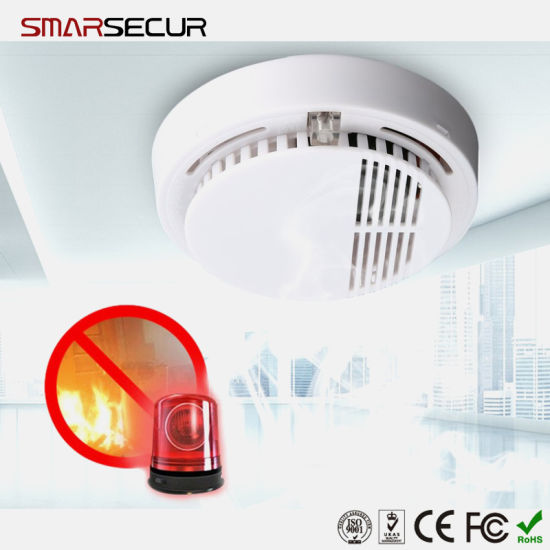 Home Security Protection Independent 85dB Equipment Smoke Detector Sensor
