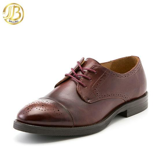 China Wholesalers Genuine Leather Men Dress Shoes