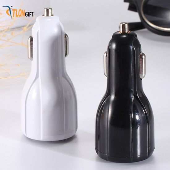 Mini Quick Car Accessoires 3.1A Dual USB Car Charger for Mobile Phone pictures & photos