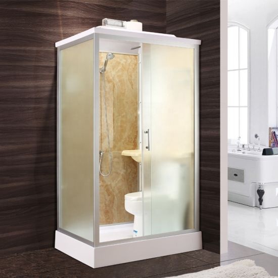 Wholesale Simple Shower Room Shower Cabin Price with Toilet
