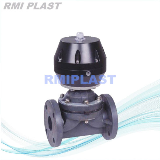 Plastic PVC PP PVDF CPVC Weir Type Diaphragm Valve /Wcb/Stainless Steel Flange True Union Ball Valve /Pneumatic Electric Check Valve /Hand Gear Butterfly Valve pictures & photos