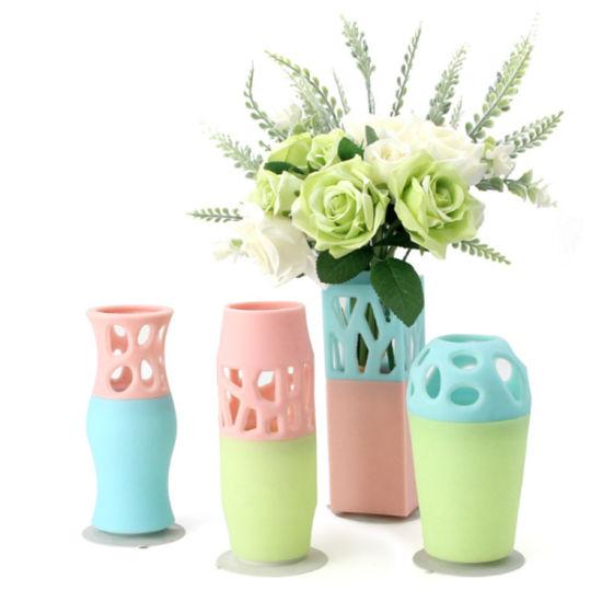 Beautiful Large Silicone Vase Hotel Living Room Decoration Vase