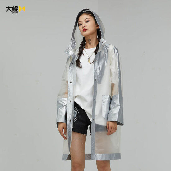 Chinese Famous Brand Dakun Women's Clothes Leisure Style Quality Cool Long Wind Coat