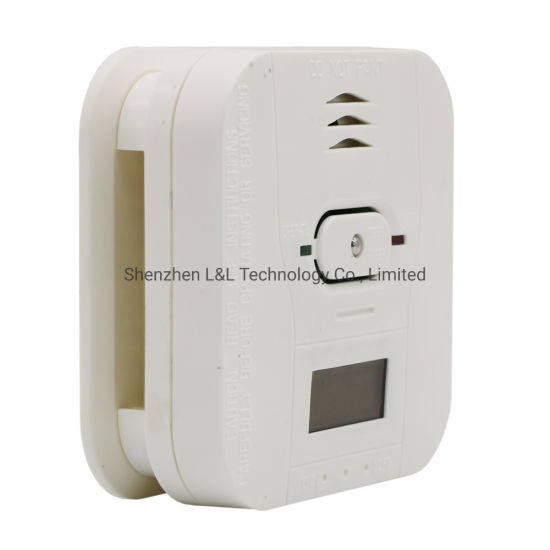 Battery Operated Co Carbon Monoxide Smoke Heat Detector Alarm