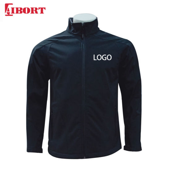 Aibort Sports Wear Casual Softshell Jacket with Stand Collar (SFJK-05)