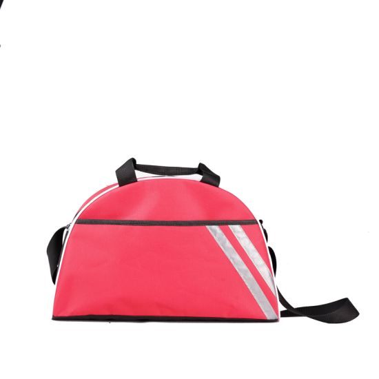 New Fitness Gym Bag with Shoe Compartment Business Short Travel Bag Sports Handbag Shoulder Bag Printing Custom Logo