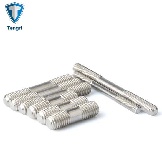 Custom Machining Stainless Steel 304/316/2205/2507 Double Threaded Stud Bolts