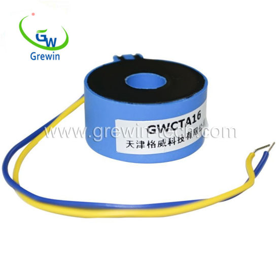 20A Input 0.1V Miniature Current Transformer with Solid Wire