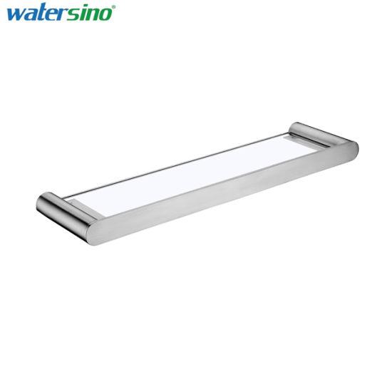Stainless Steel Bathroom Fittings Bathroom Glass Shelf