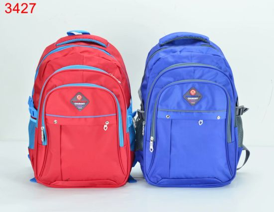 2020 Fashion Boy′s & Girl′s Double Shoulders Travel Backpack Schoolbag pictures & photos