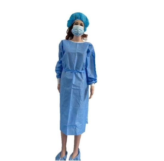 Isolation Clothing Protective Clothing Disposable Non-Woven Operating Clothing Body Protective Isolation Clothing Dust - Proof Clothing