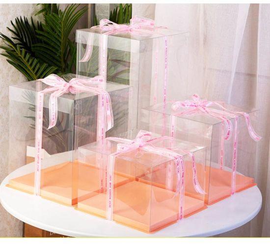 The Dessert Baker Needs a Custom Transparent Cake Box