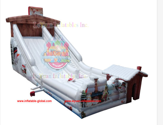 As3533 Large Slide Inflatable Toboggan Slide pictures & photos