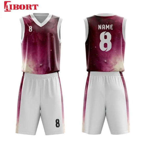 Aibort 2020 Dye Sublimation Basketball Uniform Custom Basketball Jersey (J-BSK010 (1))