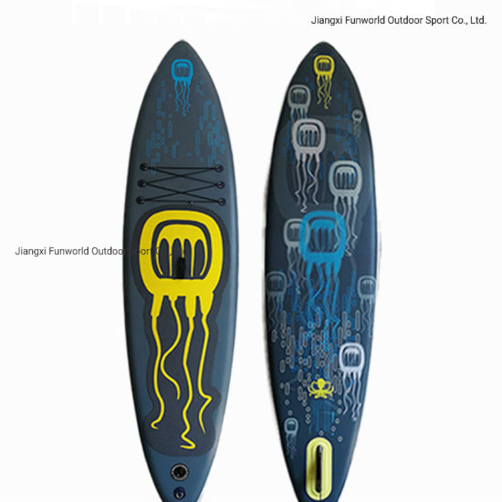 Popular Size High Density Dwf Customized Logo Inflatable Stand up Paddle Board