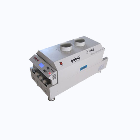 T961 Reflow Oven Infrared Heating Station 230*730mm 6 Zones 3.5kw Soldering 6 Temperature Zones, 220V
