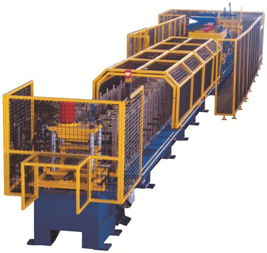 Lift Car Bottom Stiffener Roll Forming Machine