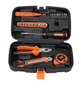 25PCS Tool Cabint Portable Manual Hand Toolset for Household