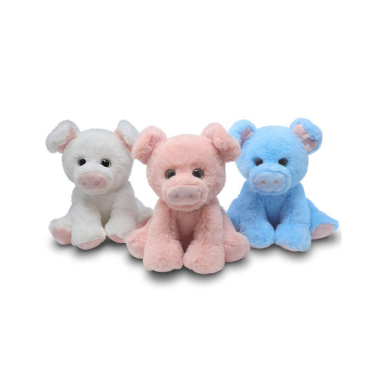 Pig Fluffy Custom Factory Hand Made Plush Stuffed Kids Toy