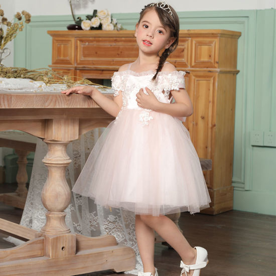 2020 New Arrival Children Clothes Kids Wear Party Wear First Communion Dresses