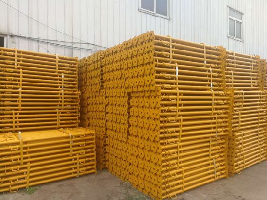 Painted Galvanized Scaffolding Adjustable Steel Prop on Construction