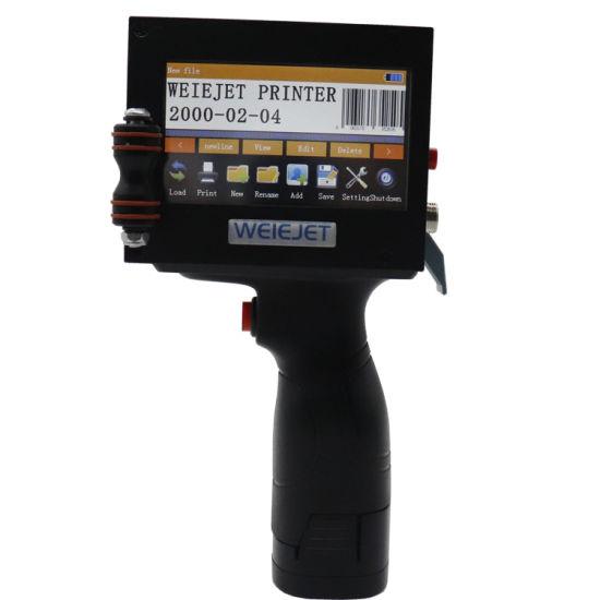 Cheap Printer Inkjet Wireless Inkjet Printer Logo Expiration Date Bar Code Printer Handheld for Printing Coding Packaging