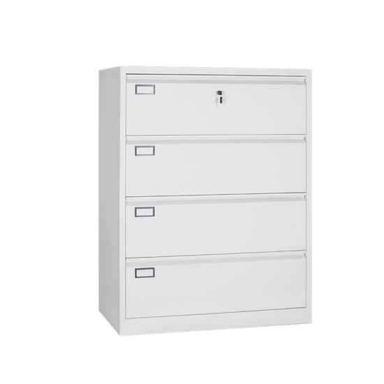 China Steel Filing 4 Drawer Cabinet With Lock Key Office Furniture Filing Cabinets China Cabinet Black Lateral File Cabinet