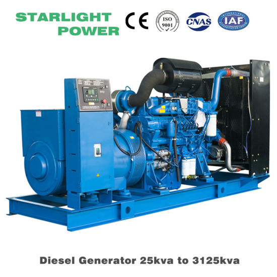 Hot Sale 400kw 500kVA Yuchai Power Electric Diesel Generator Genset pictures & photos