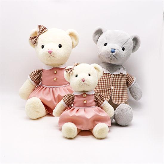 Custom Plush Toy Teddy Bear with Dress