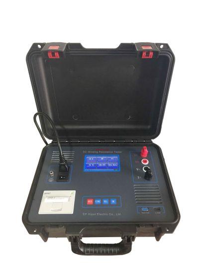 Portable 3A Transformer Ohmmmeter 5A DC Winding Resistance Tester Transformer Winding Resistance Meter