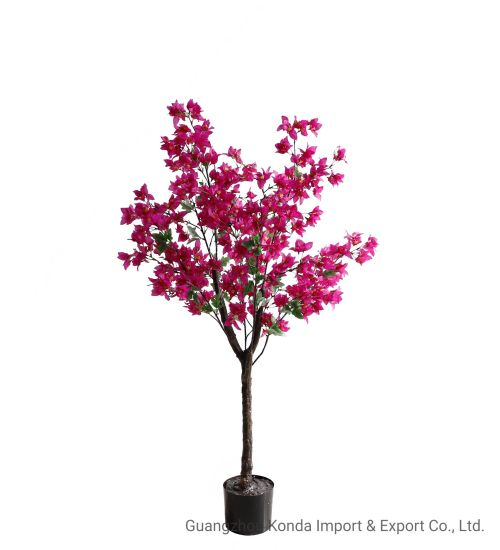 Wholesale Hot Selling Cheap Artificial Bougainvillea Flower for Home Party Wedding Hotel Shop Decoration