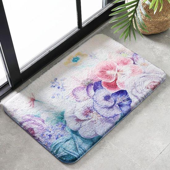 China New Design Non Slip White Bathroom Rugs Mats Sets On Sale