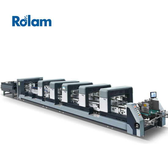 Folding Gluing Machine High Speed Automatic Folder Gluer (XL series)