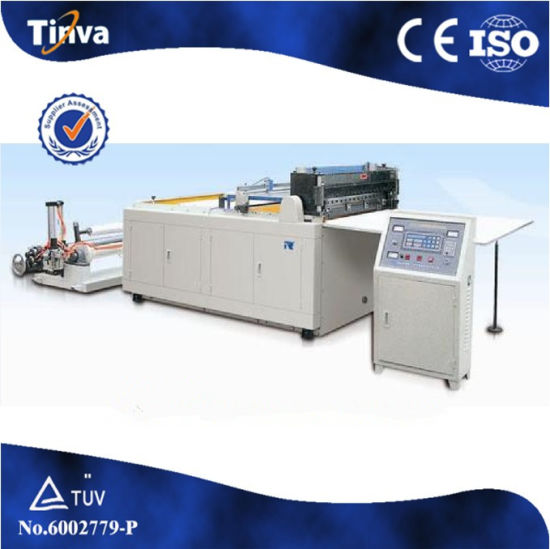 China Automatic Paper Film Cross Cutiing Machine CE ISO
