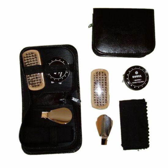 Leather Mini Shoe Polish Set for Travel Gift (JMC-133J)