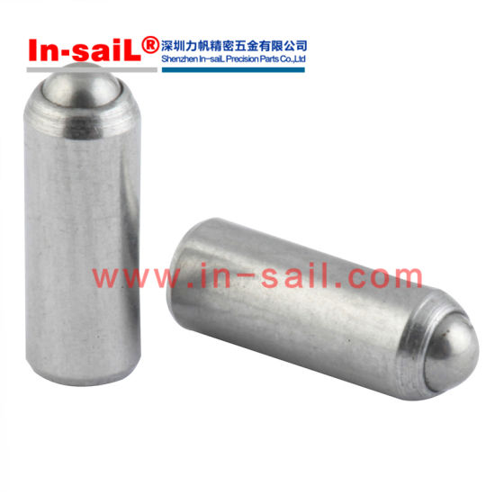 China Press-Fit Long-Nose Spring Plungers with Steel Nose