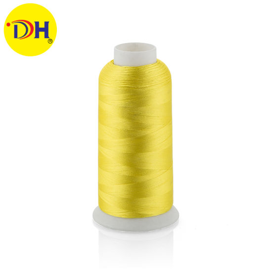 Polyester Filament Embroidery Thread pictures & photos