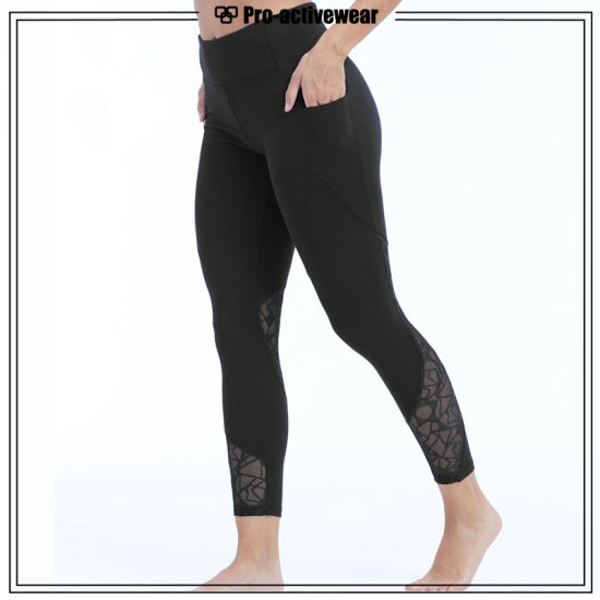 547f55c4e13 [Hot Item] Latest Fashion Women Athletic Leggings Fitness Workout Tights  for Girls