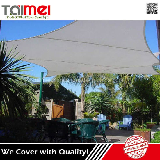 Hot Sale New Virgin HDPE Solar Sun Shade Sails pictures & photos