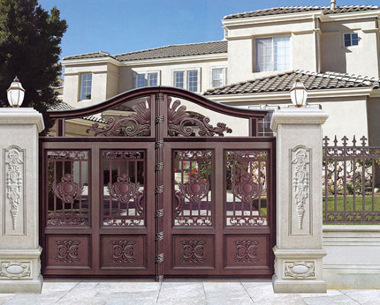 Stainless Steel Aluminum Profile Front Gate pictures & photos