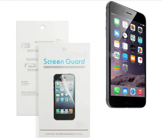 High Clear Film Screen Protector for iPhone6 pictures & photos