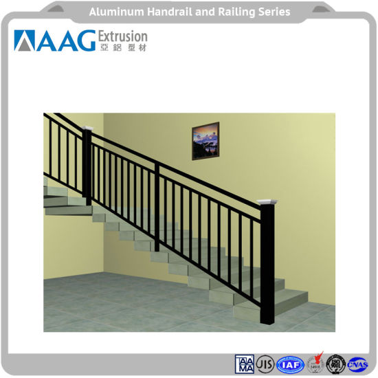 China Aluminum Profile Curtain Wall and Handrail of