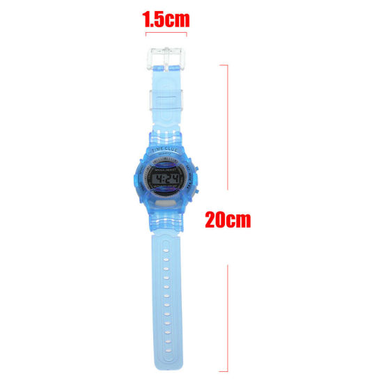 Children Digital Watches Candy Wrist Watch Electronic Meter LCD Wristwatch pictures & photos